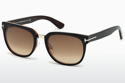 Saulesbrilles Tom Ford Rock (FT0290 01F) - Melna, Shiny