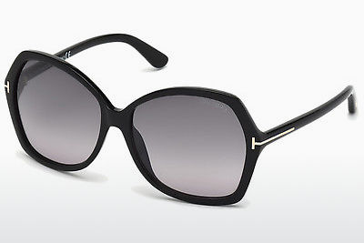 Saulesbrilles Tom Ford Carola (FT0328 01B) - Melna