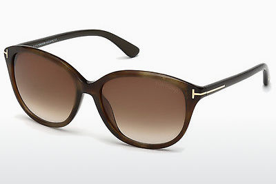 Saulesbrilles Tom Ford Karmen (FT0329 50P) - Brūna, Dark