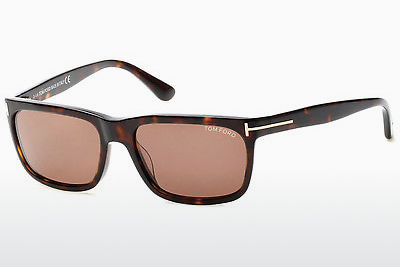 Saulesbrilles Tom Ford Hugh (FT0337 56J) - Havannas brūna