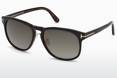 Saulesbrilles Tom Ford Franklin (FT0346 01V) - Melna, Shiny