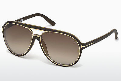 Saulesbrilles Tom Ford Sergio (FT0379 50K) - Brūna, Dark