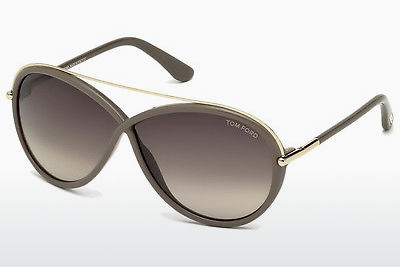 Saulesbrilles Tom Ford Tamara (FT0454 59K) - Raga, Beige, Brown