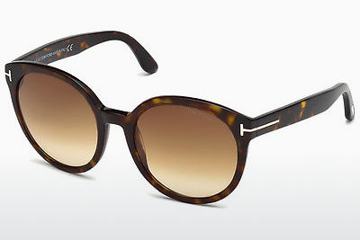 Saulesbrilles Tom Ford Philippa (FT0503 52F) - Brūna, Dark, Havana