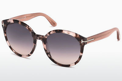 Saulesbrilles Tom Ford Philippa (FT0503 56B) - Havannas brūna