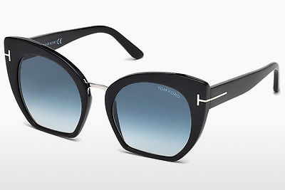 Saulesbrilles Tom Ford Samantha (FT0553 01W) - Melna, Shiny