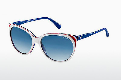 Saulesbrilles Tommy Hilfiger TH 1315/S VN6/08 - Balta, Zila