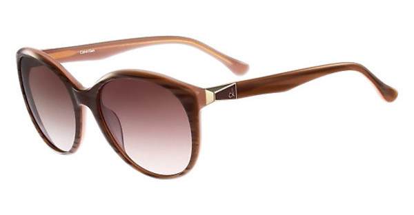 Calvin Klein CK4291S 203 STRIPED BROWN ROSE