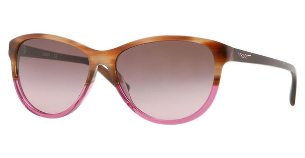 DKNY DY4104 357614 BROWN GRADIENT PINKBROWN HORN
