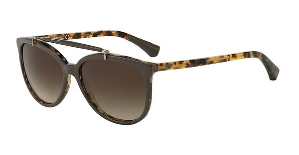 Emporio Armani EA4039 526513 BROWN GRADIENTTOP TURTLEDOVE ON HAVANA