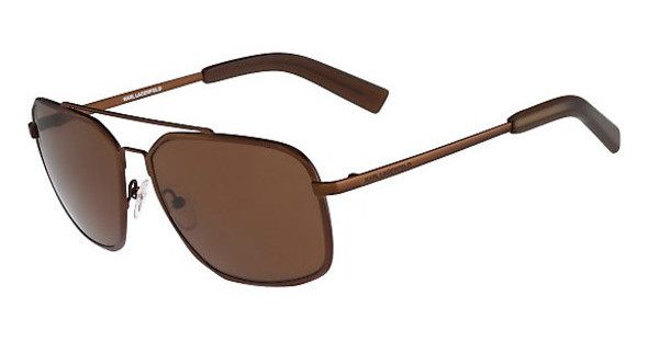 Karl Lagerfeld KL235S 502 SATIN BROWN