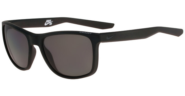 Nike UNREST P EV0954 002 MATTE BLACK/DEEP PEWTER WITH GREY Polarized LENS