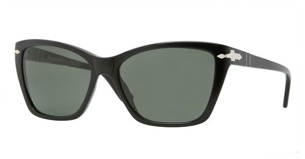 Persol PO3023S 95/31 CRYSTAL GREENBLACK