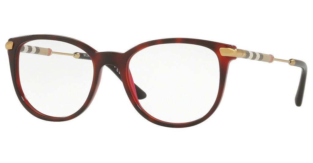 Burberry   BE2255Q 3657 TOP HAVANA ON BORDEAUX