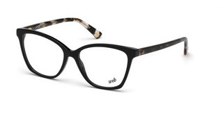Web Eyewear WE5249 A01 schwarz glanz