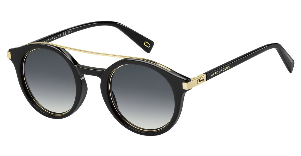 Marc Jacobs   MARC 173/S 2M2/9O DARK GREY SFBLK GOLD