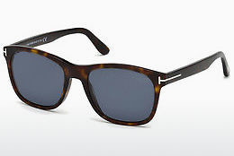 Saulesbrilles Tom Ford FT0595 52D - Brūna, Dark, Havana