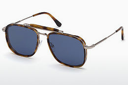 Saulesbrilles Tom Ford FT0665 53V - Havannas brūna, Yellow, Blond, Brown