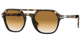 Persol PO3206S 108851 CLEAR GRADIENT BROWNTORTOISE BROWN/BLACK