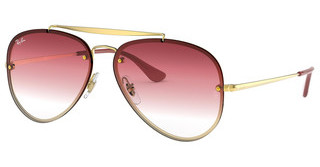 Ray-Ban RB3584N 91400T TRI GRAD BROWN/PINK/TRASPARENTDEMI GLOSS GOLD